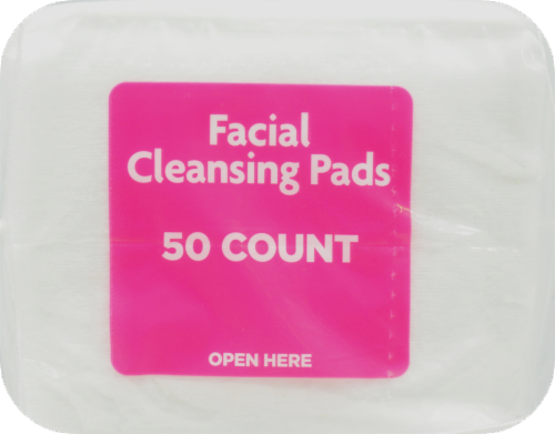 Kroger® Ultra Soft Facial Cleansing Pads Perspective: top
