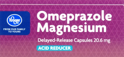 Kroger 20mg Omeprazole With Magnesium Acid Reducer Perspective: top