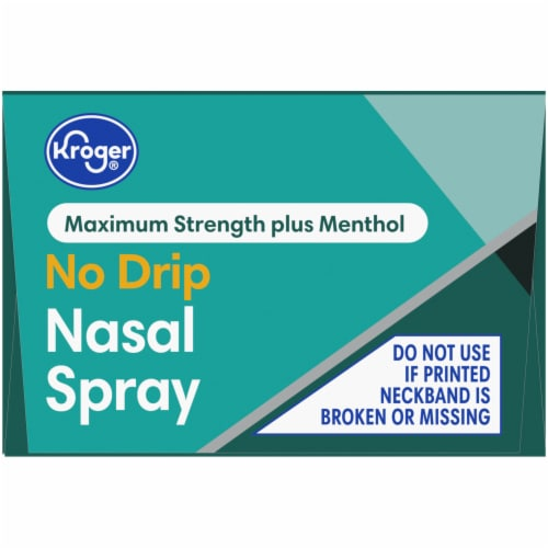 Kroger® Severe Congestion Nasal Spray Perspective: top