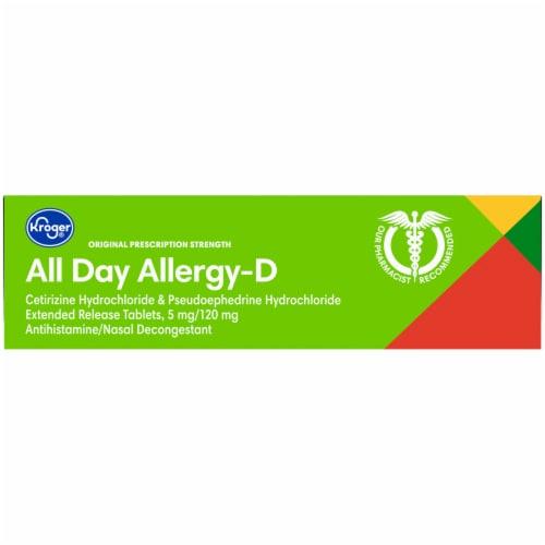Kroger® Allergy Relief Medicine Perspective: top