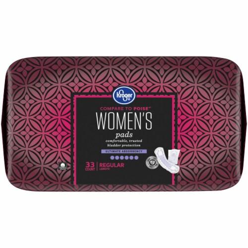 Kroger® Regular Length Ultimate Absorbency Women's Incontinence Pads Perspective: top