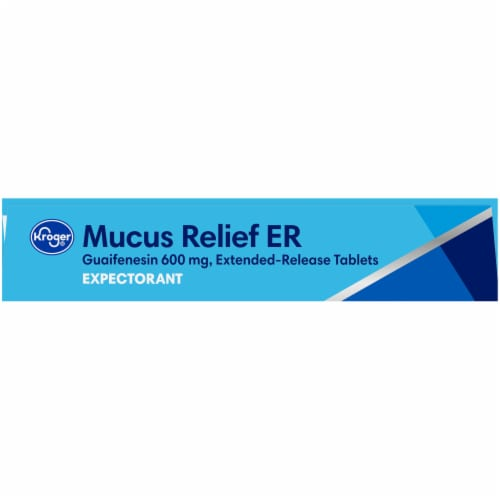 Kroger® Mucus Relief ER Expectorant Extended Release Tablets 600mg Perspective: top