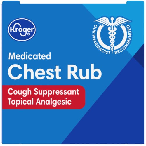 Kroger® Medicated Chest Rub Perspective: top