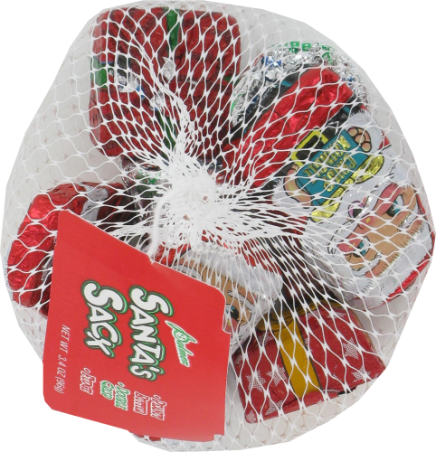 Palmer Santa's Sack Assorted Candy Perspective: top