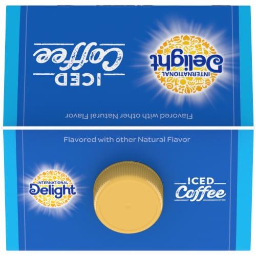 International Delight Vanilla Iced Coffee Perspective: top