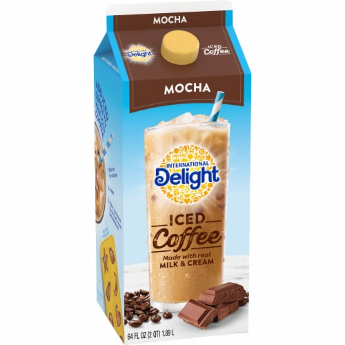 International Delight Mocha Iced Coffee Perspective: top