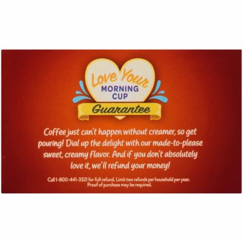 International Delight Hazelnut Coffee Creamer Singles Perspective: top
