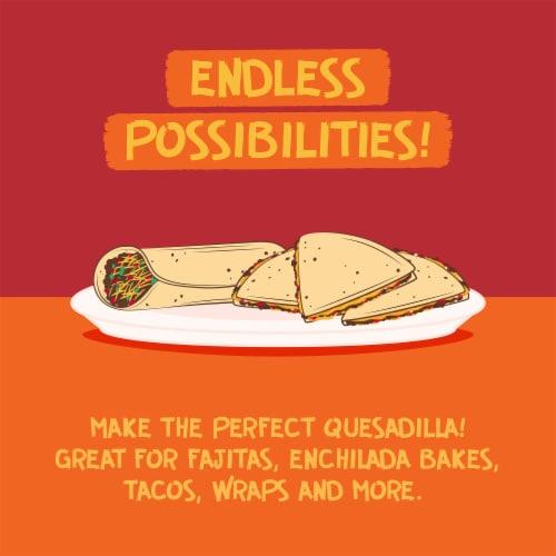 Azteca® Original Thin Supersize Taco Flour Tortillas Perspective: top