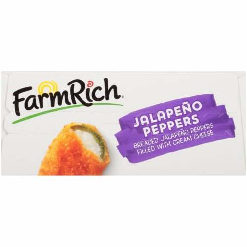 Farm Rich Jalapeno Peppers Perspective: top