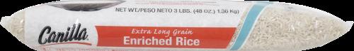 Goya Canilla Long Grain Rice Perspective: top
