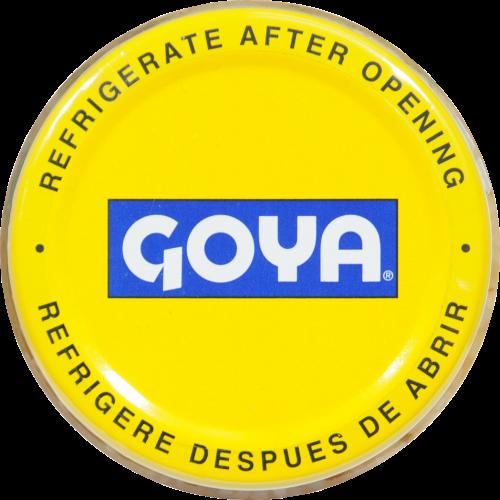 Goya Minced Garlic Perspective: top
