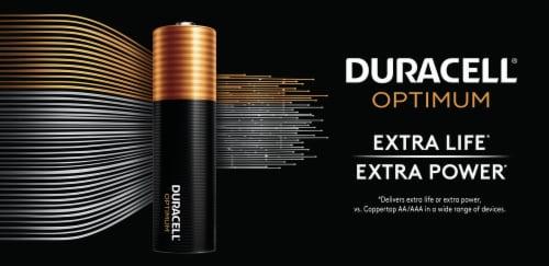 Duracell Alkaline AAA Batteries Perspective: top