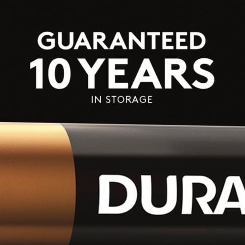 Duracell Rechargeable AA Batteries Perspective: top