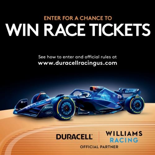 Duracell AA Alkaline Batteries Perspective: top