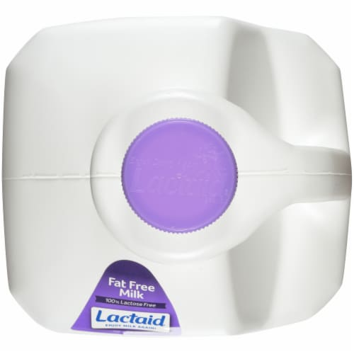 Lactaid 100% Lactose Free Fat Free Milk Perspective: top