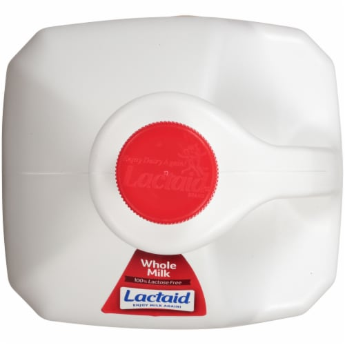Lactaid 100% Lactose Free Whole Milk Perspective: top