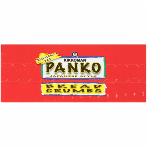 Kikkoman Panko Japanese Style Bread Crumbs Perspective: top