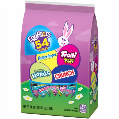 EggFillers Easter Candy Variety Bag 54 Count Perspective: top