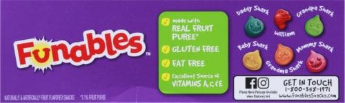 Funables Nickelodeon Baby Shark Fruit Flavored Snacks Perspective: top