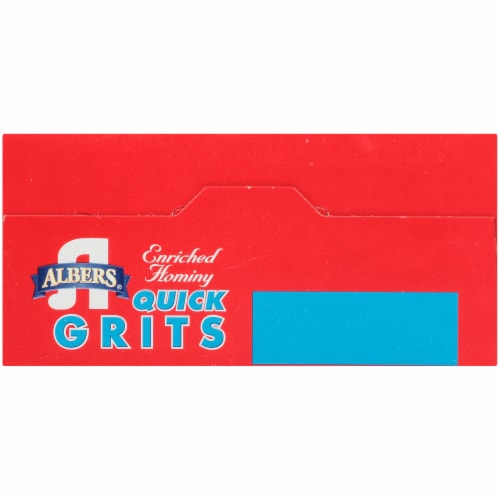 Albers Enriched Hominy Quick Grits Perspective: top