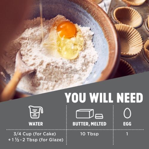 Krusteaz® Meyer Lemon Pound Cake Mix Perspective: top