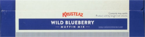 Krusteaz® Wild Blueberry Muffin Mix Perspective: top
