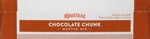 Krusteaz® Chocolate Chunk Muffin Mix Perspective: top