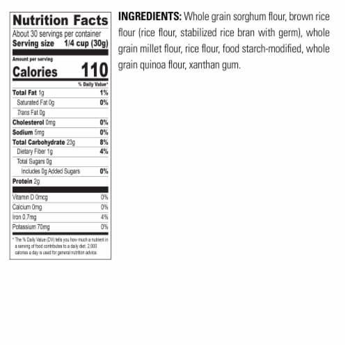 Krusteaz Gluten Free All Purpose Flour Perspective: top