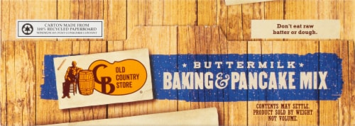 Cracker Barrel Old Country Store Buttermilk Baking & Pancake Mix Perspective: top
