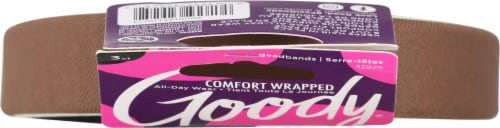 Goody® Fabric Covered Headbands Perspective: top