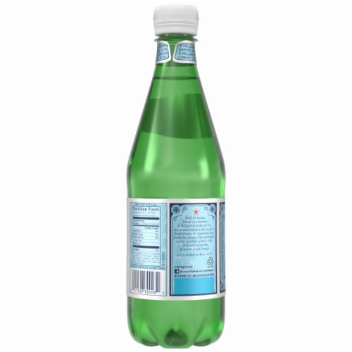 S. Pellegrino Sparkling Natural Mineral Water Perspective: top
