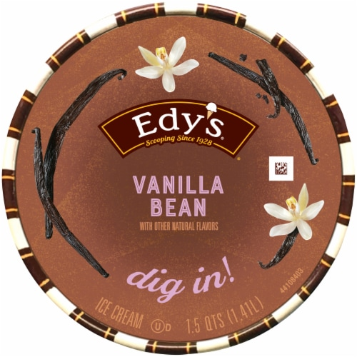 Edy's® Vanilla Bean Ice Cream Perspective: top