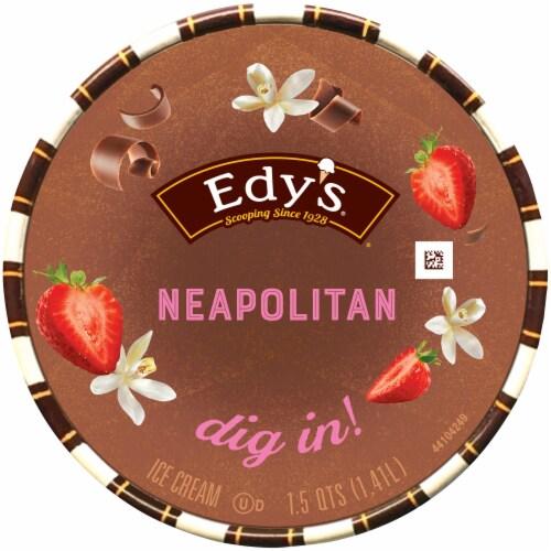 Edy's Neapolitan Ice Cream Perspective: top