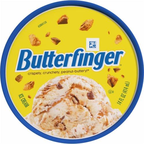 Nestle Butterfnger Light  Ice Cream Perspective: top
