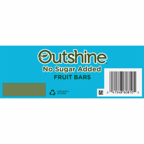 Outshine Strawberry Tangerine & Raspberry No Sugar Added Fruit Bars Perspective: top