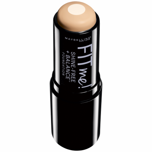 Maybelline Fit Me Buff Beige Stick Foundation Perspective: top