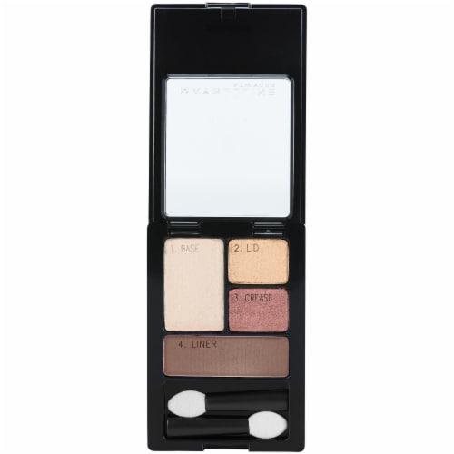 Maybelline Expert Wear Designer Chocolates Eyeshadow Quad Perspective: top