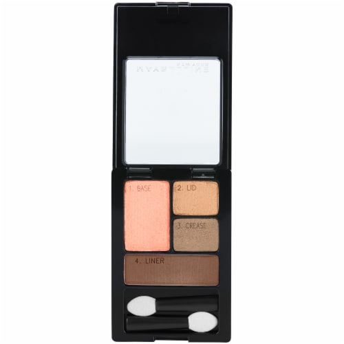 Maybelline Expert Wear Autumn Coppers Quads Eyeshadow Perspective: top