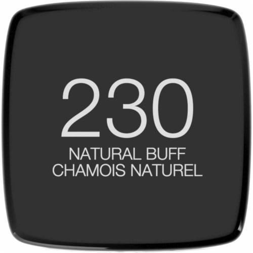 Maybelline Fit Me 230 Natural Buff Matte + Poreless Liquid Foundation Perspective: top
