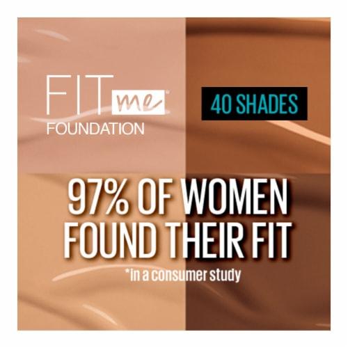 Maybelline Fit Me! Matte + Poreless 355 Coconut Liquid Foundation Perspective: top