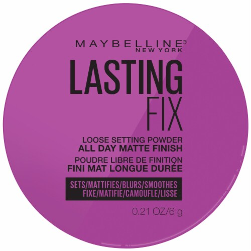 Maybelline Master Fix Setting + Perfecting Translucent Loose Powder Perspective: top