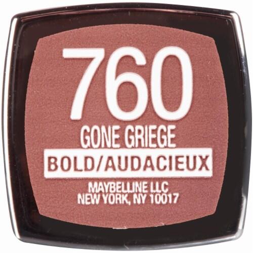 Maybelline Color Sensational Loaded Bolds Gone Griege Lipstick Perspective: top