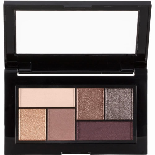 Maybelline The City Chill Brunch Neutrals Mini Eyeshadow Palette Perspective: top