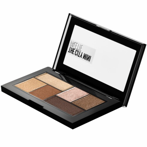 Maybelline The City Mini Eyeshadow Palette - Rooftop Bronzes Perspective: top