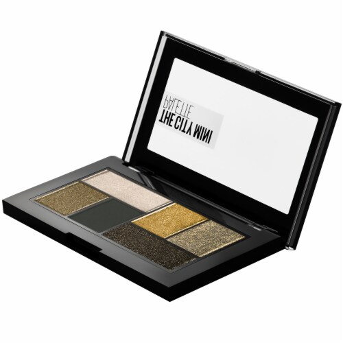 Maybelline The City Mini Eyeshadow Palette - Urban Jungle Perspective: top