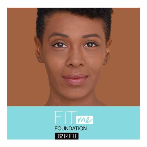 Maybelline Fit Me! Matte + Poreless 362 Truffle Liquid Foundation Perspective: top