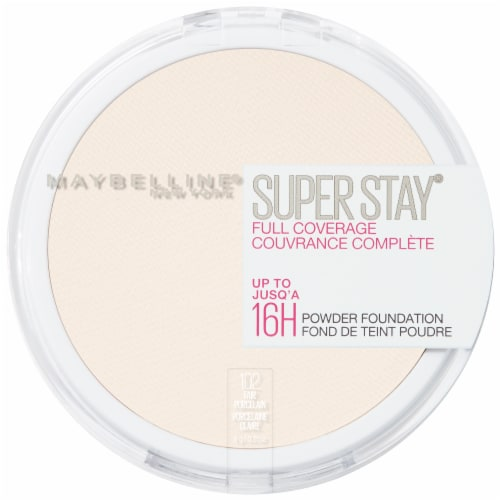 Maybelline Superstay Full Coverage Fair Porcelain Face Powder Perspective: top