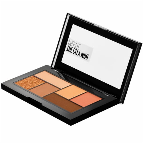 Maybelline The City Mini Eyeshadow Palette Makeup - Cocoa City 550 Perspective: top