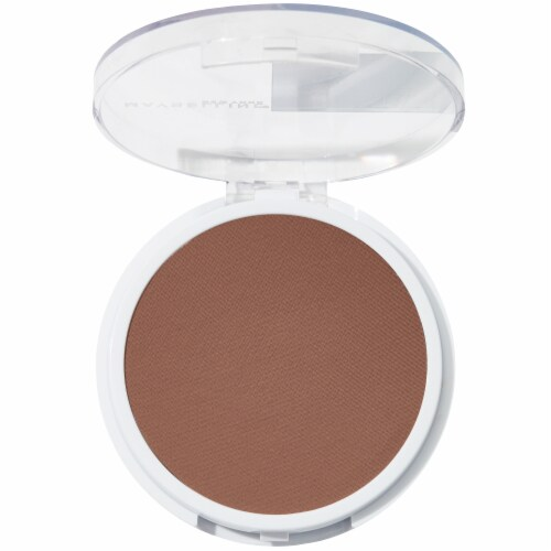 Maybelline Super Stay Full Coverage 375 Java Powder Foundation Perspective: top
