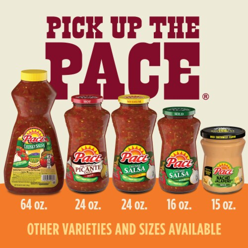 Pace® Mild Chunky Salsa Perspective: top